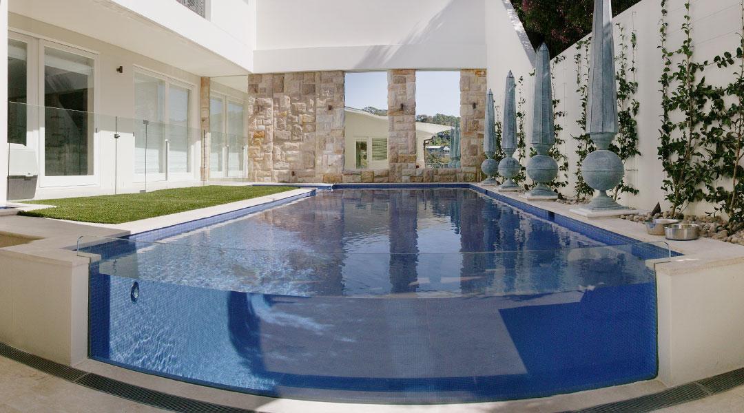 Glass coating for railings & pool fencing - EnduroShield